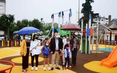 Nuevo parque infantil en Escairón